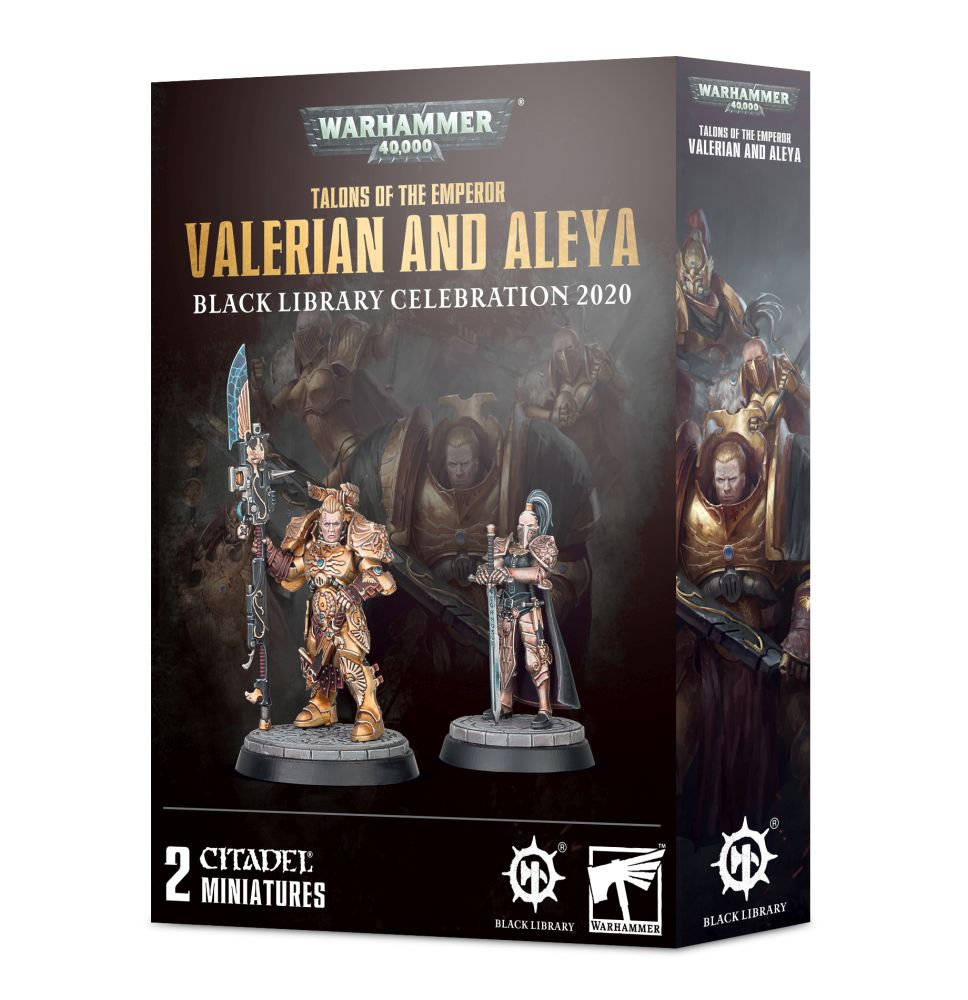 Talons of The Emperor: Valerian And Aleya