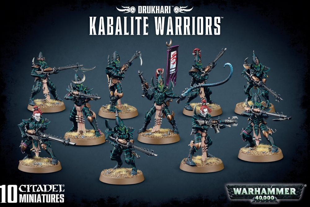 Drukhari: Kabalite Warriors (old box)