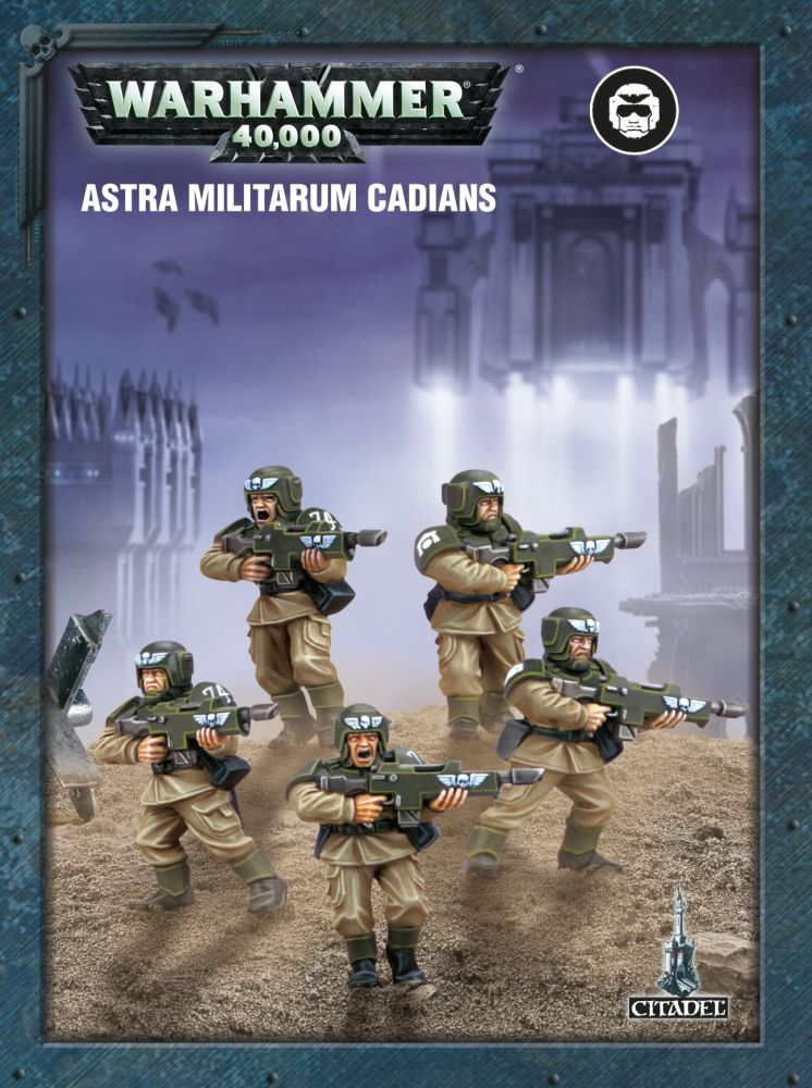Easy To Build Astra Militarum Cadians