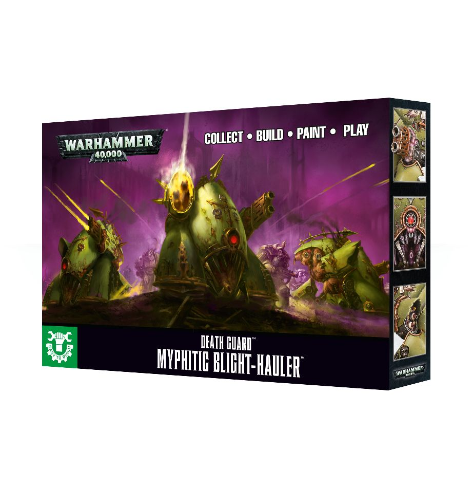 Easy to Build: Death Guard Myphitic Blight-Hauler - Discontinued
