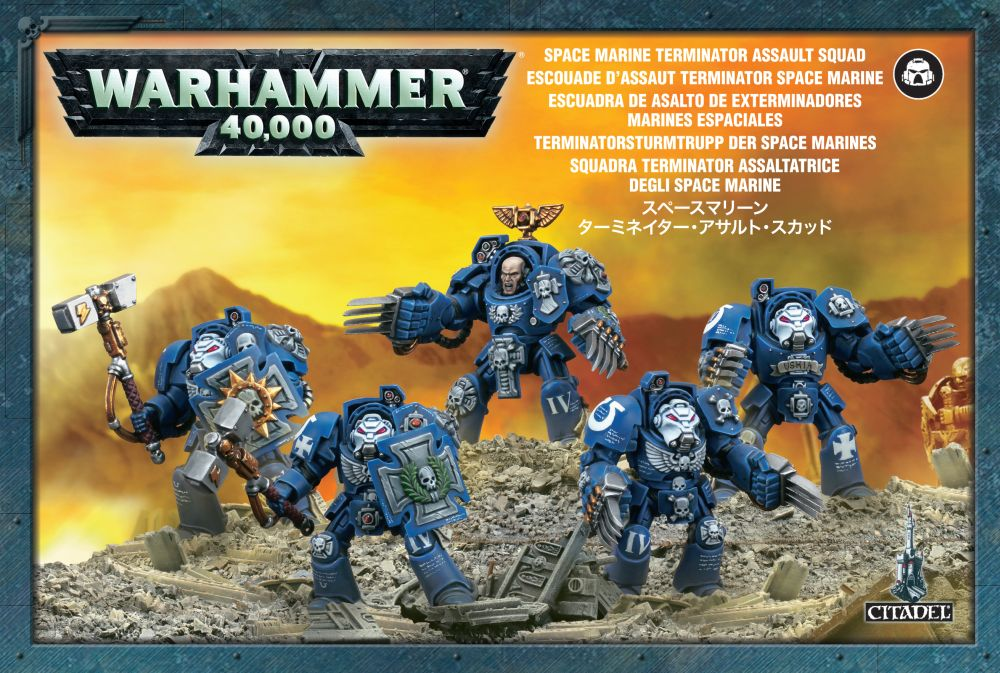 Space Marines: Terminator Close Combat Squad